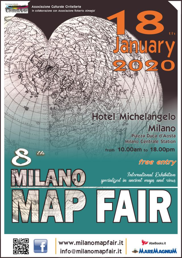 Milano Map Fair - International Exhibition Specialized in amcient maps and views